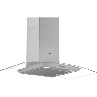 Bosch Serie 2 DWA94BC50B Built In Chimney Cooker Hood - Stainless Steel - DWA94BC50B_SS - 1