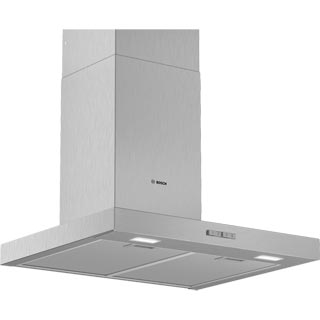 Bosch Serie 2 DWB64BC50B Built In Chimney Cooker Hood - Stainless Steel - DWB64BC50B_SS - 1