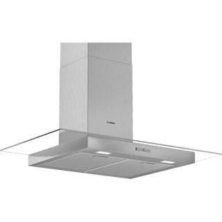 Bosch Serie 2 DWG94BC50B Built In Chimney Cooker Hood - Stainless Steel - DWG94BC50B_SS - 1