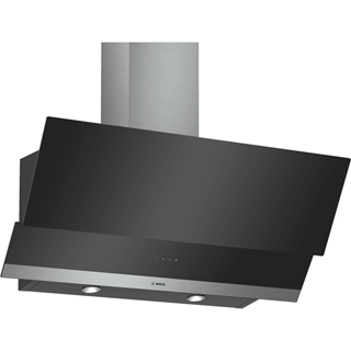 Bosch Serie 4 DWK095G60B Built In Chimney Cooker Hood - Black - DWK095G60B_BK - 1