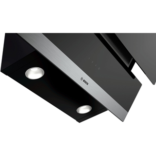 Bosch Serie 4 DWK095G60B Built In Chimney Cooker Hood - Black - DWK095G60B_BK - 3