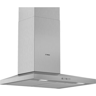 Bosch Serie 2 DWQ64BC50B Built In Chimney Cooker Hood - Stainless Steel - DWQ64BC50B_SS - 1