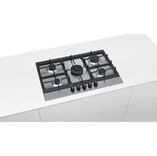 Siemens IQ-500 EC7A5RB90 Built In Gas Hob - Stainless Steel - EC7A5RB90_SS - 5