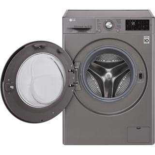 LG F4J6AM2S Washer Dryer - Graphite - F4J6AM2S_GH - 2