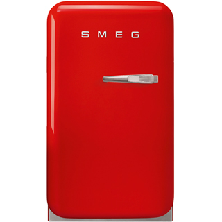 Smeg Left Hand Hinge FAB5LRD3 Fridge - Red - FAB5LRD3_RD - 1