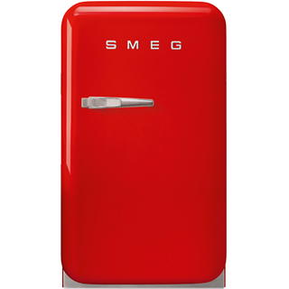Smeg Right Hand Hinge FAB5RRD3 Fridge - Red - FAB5RRD3_RD - 1