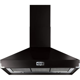 Falcon FHDSE1000BL/C Built In Chimney Cooker Hood - Black - FHDSE1000BL/C_BK - 1