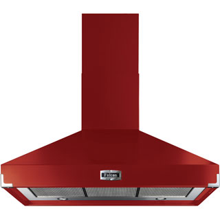 Falcon FHDSE900RD/N Built In Chimney Cooker Hood - Cherry Red - FHDSE900RD/N_CHE - 1
