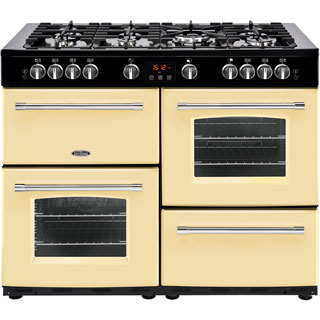 Belling Farmhouse110GT Gas Range Cooker - Cream - Farmhouse110GT_CR - 1