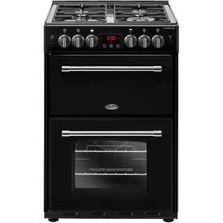 Belling Farmhouse60G Gas Cooker - Black - Farmhouse60G_BK - 1