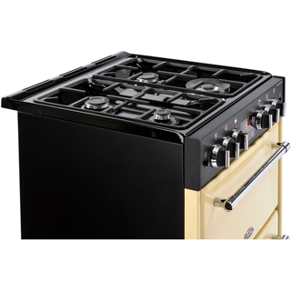 Belling Farmhouse60G Gas Cooker - Black - Farmhouse60G_BK - 4