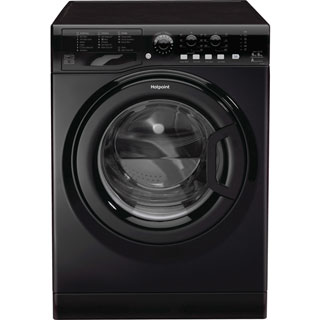 Hotpoint Ultima FDL9640K Washer Dryer - Black - FDL9640K_BK - 1
