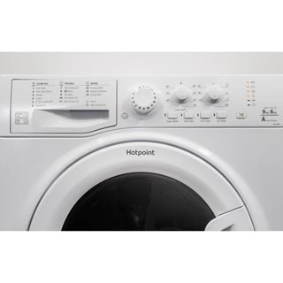 Hotpoint Ultima FDL9640K Washer Dryer - Black - FDL9640K_BK - 4