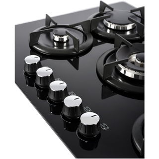 Belling GTG75C Built In Gas Hob - Black - GTG75C_BK - 3