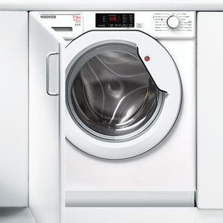 Hoover HBWD7514DA Built In Washer Dryer - White - HBWD7514DA_WH - 1