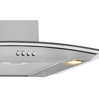 Beko HCG61320X Built In Chimney Cooker Hood - Stainless Steel - HCG61320X_SS - 4