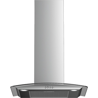 Beko HCG61320X Built In Chimney Cooker Hood - Stainless Steel - HCG61320X_SS - 1