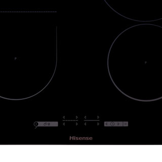 Hisense I6433C Built In Induction Hob - Black - I6433C_BK - 2