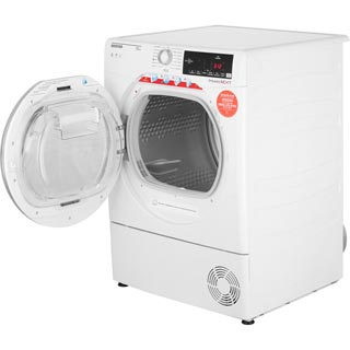 Hoover Dynamic Next Advance DXC10TCER 10Kg Condenser Tumble Dryer - Graphite / Chrome - B Rated - DXC10TCER_GH - 4