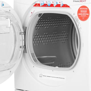 Hoover Dynamic Next Advance DXC10TCER 10Kg Condenser Tumble Dryer - Graphite / Chrome - B Rated - DXC10TCER_GH - 5