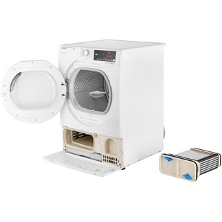 Hoover Dynamic Next Advance DXC9TCG 9Kg Condenser Tumble Dryer - White / Chrome - B Rated - DXC9TCG_WH - 5