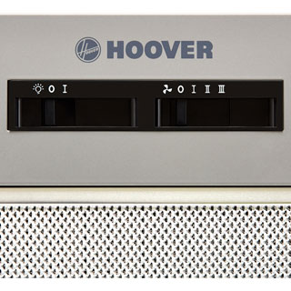 Hoover HBG152NS Built In Canopy Cooker Hood - Silver - HBG152NS_SI - 3
