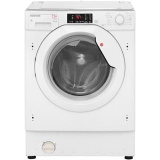 Hoover HBWD7514DA Built In Washer Dryer - White - HBWD7514DA_WH - 2