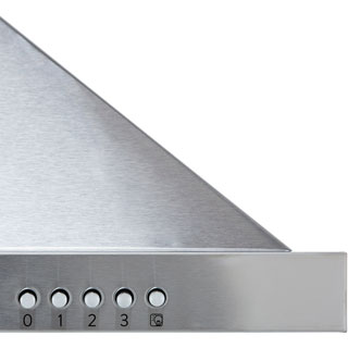 Hoover HCE190X Built In Chimney Cooker Hood - Stainless Steel - HCE190X_SS - 3