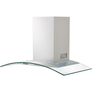 Hoover HGM900X Built In Chimney Cooker Hood - Stainless Steel / Glass - HGM900X_SSG - 1