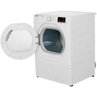 Hoover Link HLV9DG 9Kg Vented Tumble Dryer - White - C Rated - HLV9DG_WH - 4