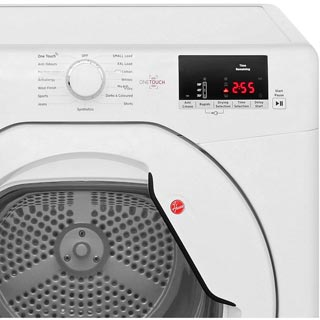 Hoover Link HLV9DG 9Kg Vented Tumble Dryer - White - C Rated - HLV9DG_WH - 3