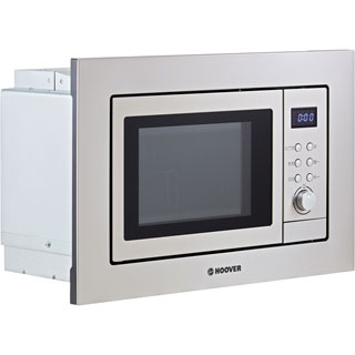 Hoover H-MICROWAVE 100 HM20GX Built In Microwave - Stainless Steel - HM20GX_SS - 2