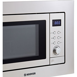Hoover H-MICROWAVE 100 HM20GX Built In Microwave - Stainless Steel - HM20GX_SS - 3