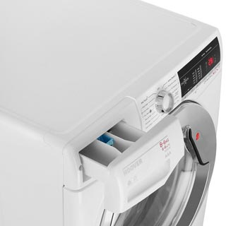 Hoover Dynamic Next WDXOA486AC Washer Dryer - White - WDXOA486AC_WH - 5