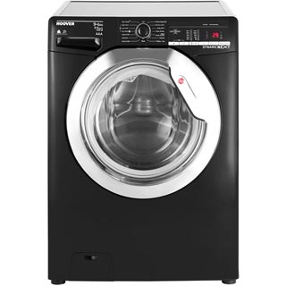 Hoover Dynamic Next WDXOA496CB Washer Dryer - Black - WDXOA496CB_BK - 1
