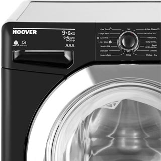 Hoover Dynamic Next WDXOA496CB Washer Dryer - Black - WDXOA496CB_BK - 2