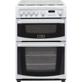 Cannon by Hotpoint CH60GCIW Gas Cooker - White - CH60GCIW_WH - 1