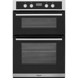 Hotpoint Class 2 DD2844CIX Built In Electric Double Oven - Stainless Steel - DD2844CIX_SS - 1