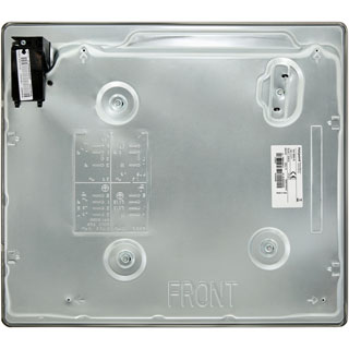 Hotpoint E604.1X Built In Solid Plate Hob - Stainless Steel - E604.1X_SS - 5