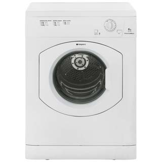 Hotpoint First Edition FETV60CP 6Kg Vented Tumble Dryer - White - C Rated - FETV60CP_WH - 1