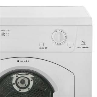 Hotpoint First Edition FETV60CP 6Kg Vented Tumble Dryer - White - C Rated - FETV60CP_WH - 4