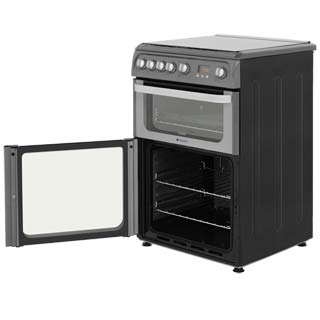 Hotpoint Ultima HUG61X Gas Cooker - Stainless Steel - HUG61X_SS - 3