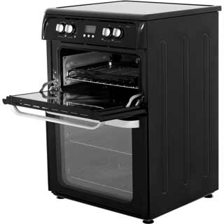 Hotpoint Ultima HUI614K Electric Cooker - Black - HUI614K_BK - 3