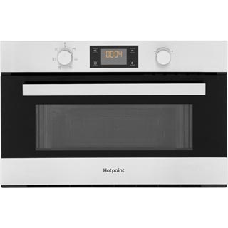 Hotpoint Class 3 MD344IXH Built In Microwave - Stainless Steel - MD344IXH_SS - 1