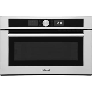 Hotpoint Class 4 MD454IXH Built In Microwave - Stainless Steel - MD454IXH_SS - 1