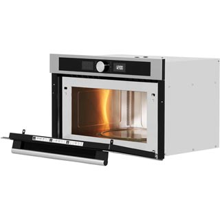 Hotpoint Class 4 MD454IXH Built In Microwave - Stainless Steel - MD454IXH_SS - 4