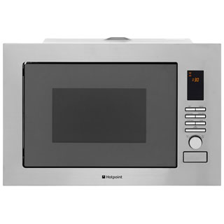 Hotpoint Newstyle MWH222.1X Built In Microwave - Stainless Steel - MWH222.1X_SS - 1