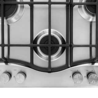 Hotpoint Ultima PCN641IXH Built In Gas Hob - Stainless Steel - PCN641IXH_SS - 2