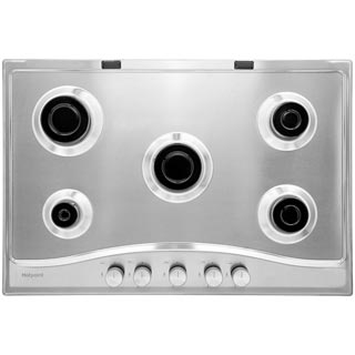 Hotpoint PCN752IX/H Built In Gas Hob - Stainless Steel - PCN752IX/H_SS - 3