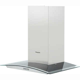 Hotpoint PHGC6.4FLMX Built In Chimney Cooker Hood - Stainless Steel - PHGC6.4FLMX_SS - 4